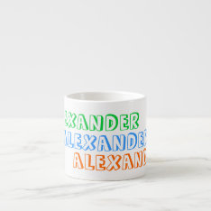 Children's Mug With Personalized Name For Kids at Zazzle