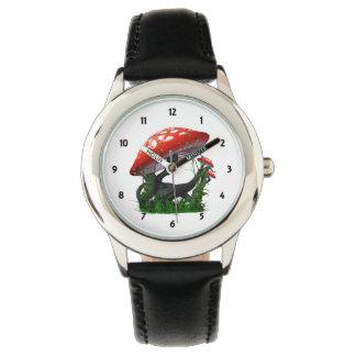 Childrens Mushroom Magic numbered Wristwatches