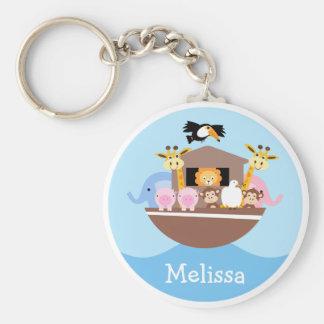 Children's Noah's Ark Key Ring Keychain