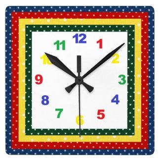 Children's Nursery Clock with Numbers