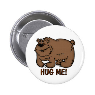 Children's Party Bag Hug Me Bear Badge Buttons