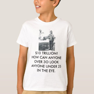 Childrens - Passing our Financial Problems on T-Shirt