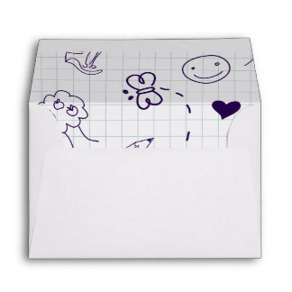 Children's Pattern Envelope
