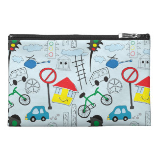Children's Pattern - Euro Style Kids Travel Accessories Bags