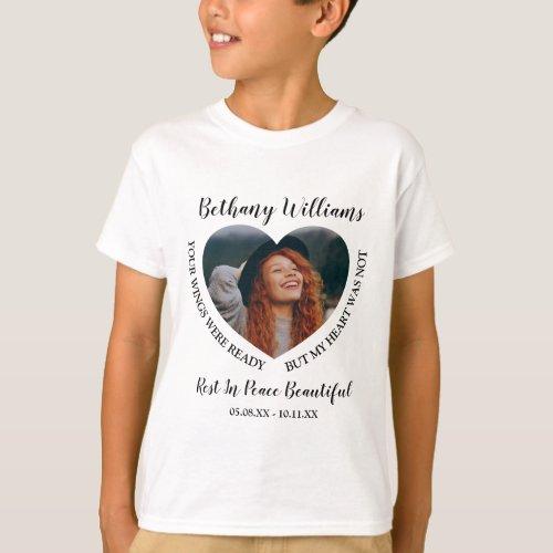 Childrens Photo Memorial T_Shirt
