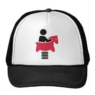 Childrens playground swing mesh hat