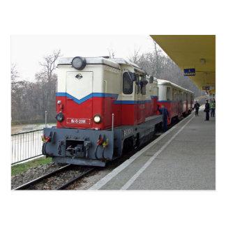 Childrens Railway, Budapest 2. Hungary. Postcard