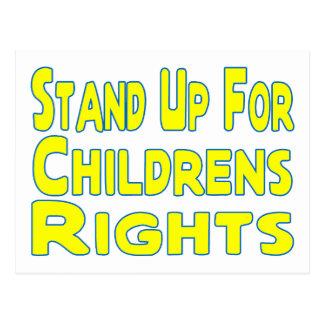 Childrens Rights Postcard