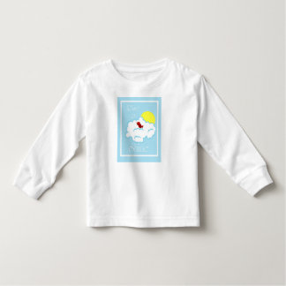 Children's Rise and Shine T-Shirt with Red Bird
