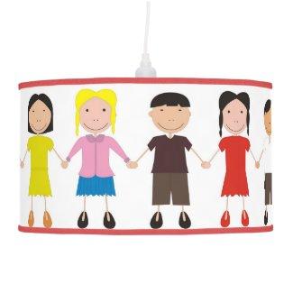 Children's Row Hanging Lamp