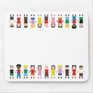 Children's Row Mouse Pad