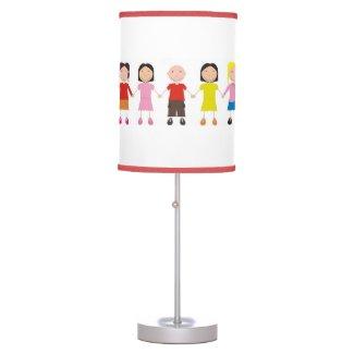 Children's Row Table Lamp