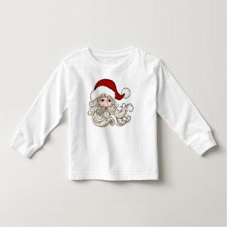 Children's Santa Face Holiday Jumper Tee