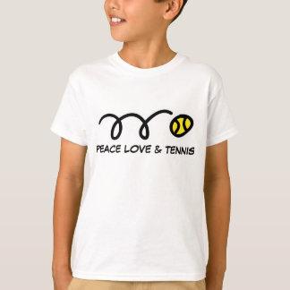 Children's sports clothes | Peace love & tennis T-Shirt