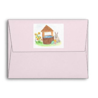 Childrens stationary envelope