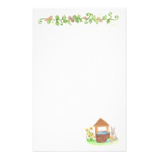 Children's stationary writing paper