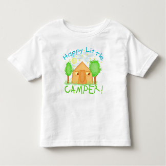 Childrens Summer Camping T-Shirt