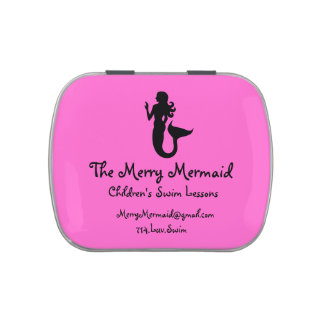 Children's Swim Instructor_Mermaid-themed Jelly Belly Tins