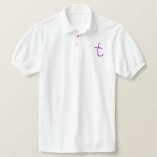 Childrens T Embroidered Polo Shirt