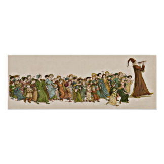 Children's Tale of the Pied Piper full print