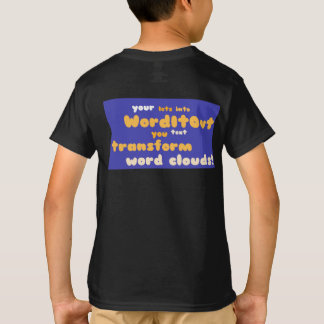 Children's Tops: back layout T-Shirt