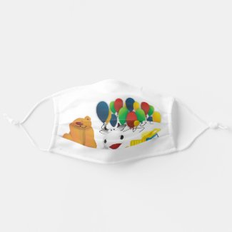 Children's toy cloth face mask
