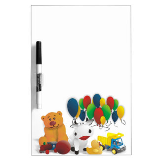 Children's toy dry erase boards
