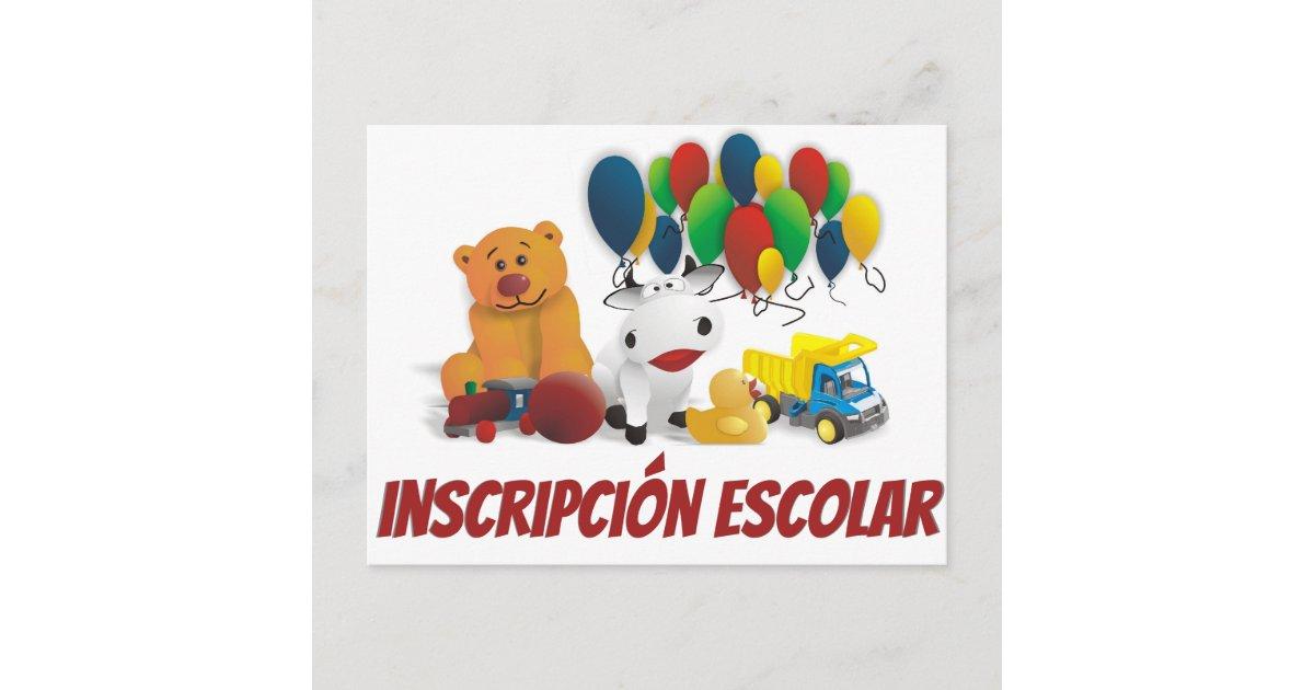 invitation to school enrollment cover image