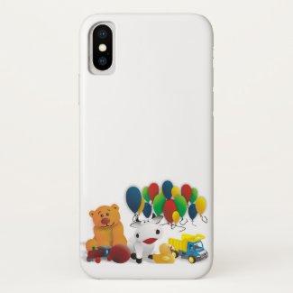 Children's toy iPhone x case