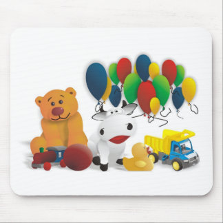 Children's toy mouse pads