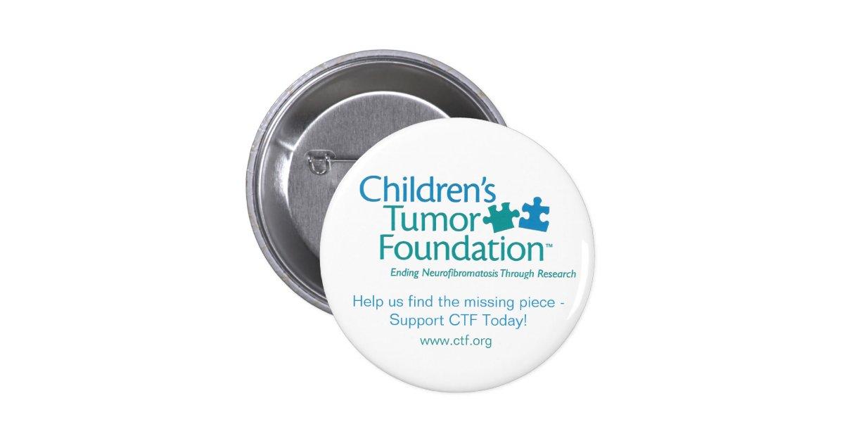 Children's Tumor Foundation Button... - Customized Button ...