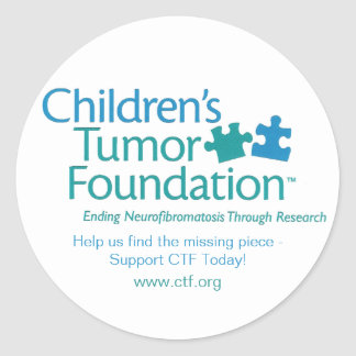 Children's Tumor Foundation Sticker - Customized