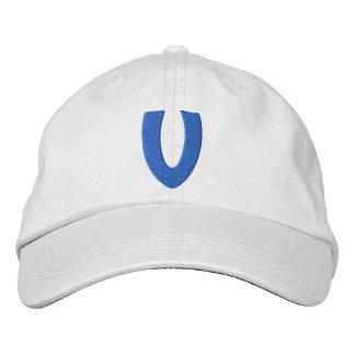 Childrens V Embroidered Hat