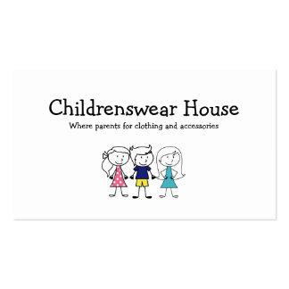 Children's Wear Business Card