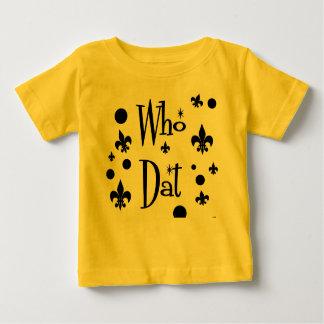 "Children's  ""Who Dat's Fun"" Shirt"