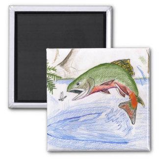 Children's Winning Artwork: brook trout Magnet