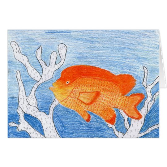 Children's Winning Artwork: garibaldi Card