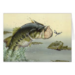 Children's Winning Artwork: largemouth bass Card