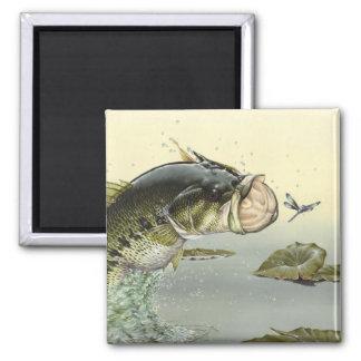 Children's Winning Artwork: largemouth bass Magnet