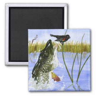 Children's Winning Artwork: northern pike Magnet