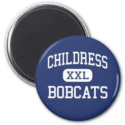 Childress - Bobcats - High - Childress Texas Magnet