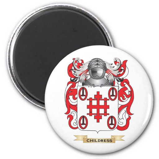 Childress Coat of Arms Refrigerator Magnets