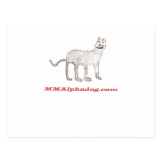 Child's Alphadog Postcard