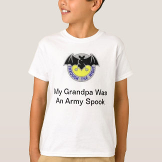 Child's Army Security Agency Grandpa Shirt