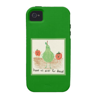 Child's Art, Green iPhone 4 Covers