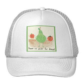 Child's Art, Green Trucker Hats