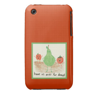 Child's Art, Red iPhone 3 Cover
