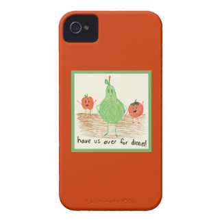 Child's Art, Red iPhone 4 Cover