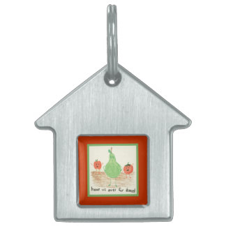 Child's Art, Red Pet Tag