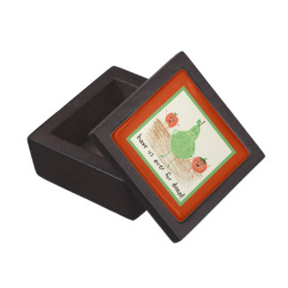Child's Art, Red Premium Keepsake Boxes